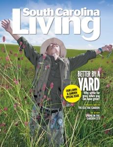 South Carolina Living March Cover