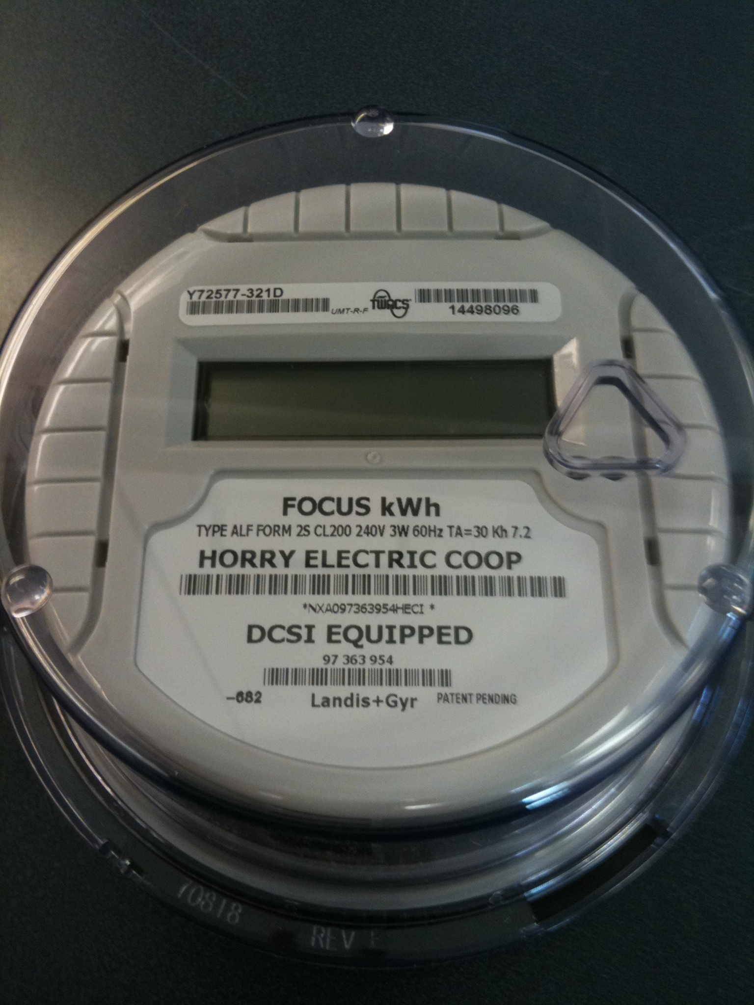 Electric Meter Cans Sign : If meters could talk horry electric cooperative inc