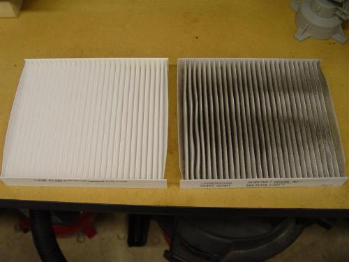how to clean air filter of ac