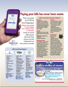 Paying your bills has never been easier with convenient payment options; mobile apps and pay stations at 3 different local banks with multiple locations!