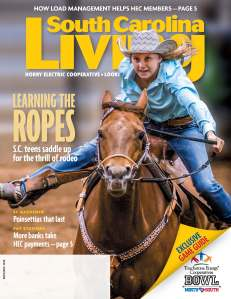 This edition of South Carolina Living is the last for 2014. The publication will resume in January 2015.