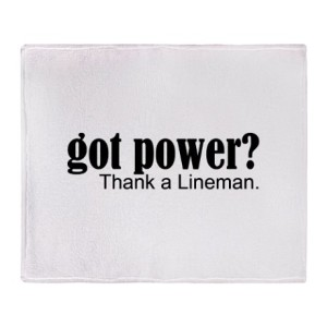 got_power_thank_a_lineman_throw_blanket