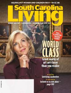 September cover Horry South Carolina Living magazine