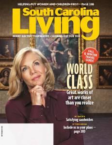 September cover Horry South Carolina Living magazine