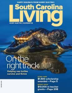 Magazine cover for November